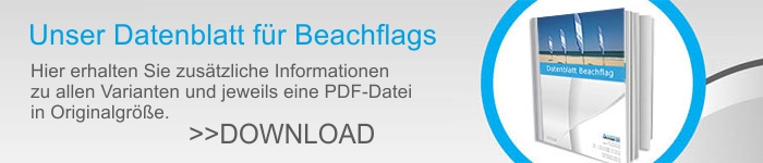 BeachFlag Datenblatt