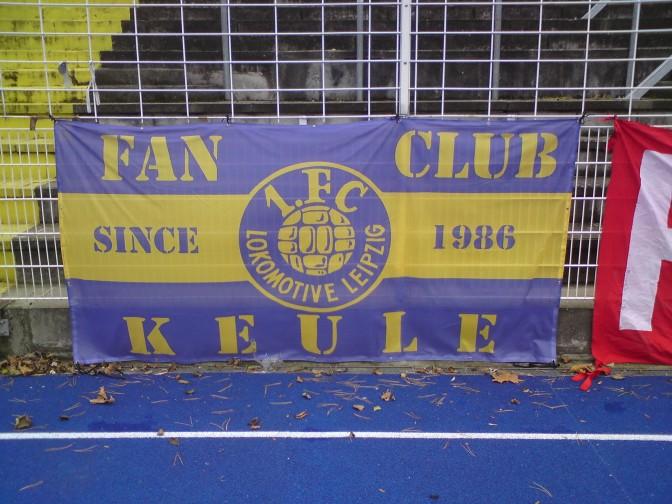 Zaunfahne für Fanclub Keule