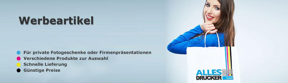ausgesuchte Werbeartikel vom Allesdrucker