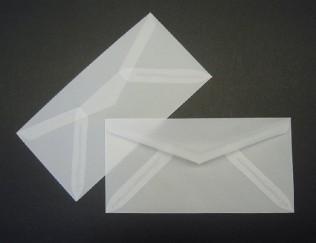 Briefumschlag transparent