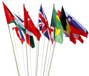 Länder Schwenkfahnen